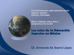 Los retos de la Educación Superior en México