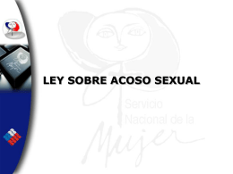 ACOSO SEXUAL - Justicia Forense
