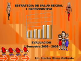 ESTRATEGIA DE SALUD SEXUAL Y REPRODUCTIVA