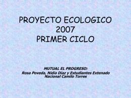 Descarga Proyecto Ecologico