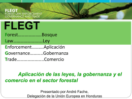 regulation - Agenda Forestal Hondureña