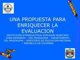 institucion etnoeducativa soplador - Curriculo-Comun