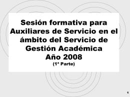 Espacios docentes - Universidad de Alicante