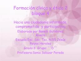 Formación cívica y ética 2 bloque 3