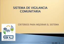 Vigilancia Comunitaria