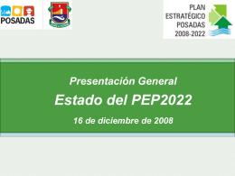 Presentación General - Municipalidad de la Ciudad de Posadas