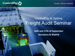 Freight Audit