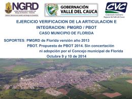 F. FORMULACION DE PROGRAMAS Y PROYECTOS – MUNICIPIO