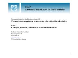 Transparencias - Universidad de Almería