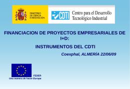 Presentación Carlos Franco CDTI