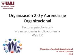 Web 2.0 y procesos colaborativos - psi