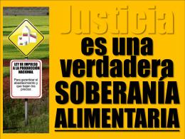 ALIMENTARIA Gobierno dueño de TODO 10de16 centrales azúcar