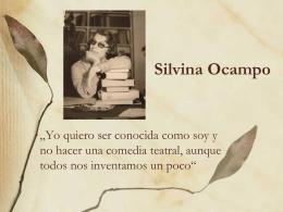 19. Juni 2012: Stephanie Dimas: Silvina Ocampo