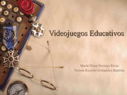 Videojuegos Educativos