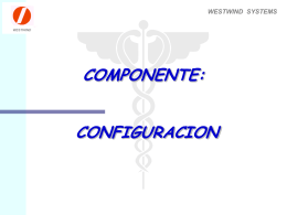 configuracion - Westwind Systems