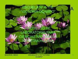 """escuela nº 4-178: """"victoria ocampo"""""""