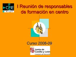 presentación cfie i 2009