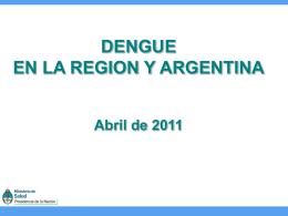 3| Dengue - Ministerio de Salud