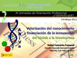 Rafael-Camacho-Fumanal - Asociación de Biotecnólogos de la