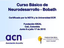 Curso Básico de Neurodesarrollo