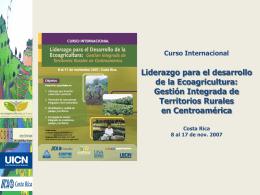 Informe del curso  - Territorios Centroamericanos