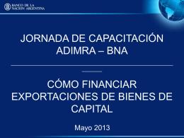 Curso Gestion Comercial Comex - Cámara Argentina de Fabricante