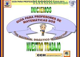 Ver presentación Guía - Portal Académico del CCH