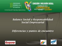 Balance Social 2005-2006 - Alianza Cooperativa Internacional en