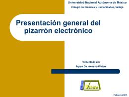 Pizarrón electrónico - CCH Vallejo