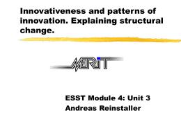 Lecture 3: Presentation (Rev2) (A. Reinstaller)