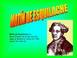Motín de Esquilache