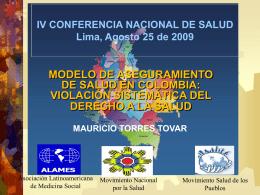 Mauricio Torres – ALAMES