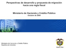 Perspectivas de desarrollo y propuesta de migración hacia una
