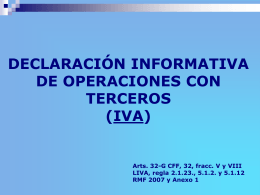 informativa3rosmensual - Asociacion Nacional de Fiscalistas.net