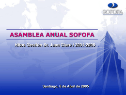 Ver Documento de Apoyo Gestión Sr. Juan Claro