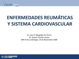 enfermedades reumáticas y sistema cardiovascular