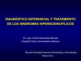 hipereosinofilia - SAHH - Sociedad Asturiana de Hematología y