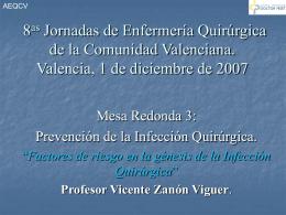 Factores de riesgo de la infección quirúrgica