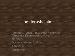 Iom Ierushalaim