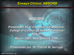ABSORB - Clinical Trial Results