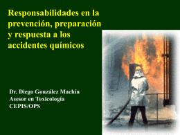 Responsabilidades en la prevención, preparación y