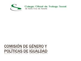 Comisión de Género - Colegio Oficial de Trabajo Social de Santa