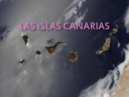 Trabajo Las Islas Canarias 1
