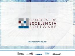 Presentación Centros de Excelencia Software