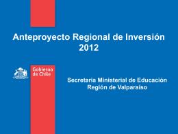 presentacion ari 2012 educacion