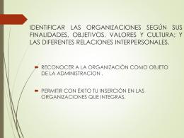 CLASE 4. ORGANIZACION_LABORAL