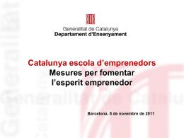 Catalunya escola d`emprenedors