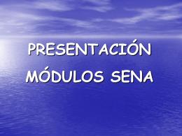 Presentacion de modulos