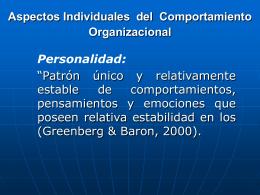 Psicología Organziacional Clase 3