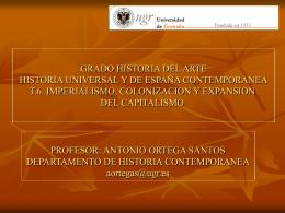 IMPERIALISMO - Historia Contemporánea